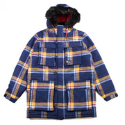 Maple Checker Parker Jacket (Navy)
