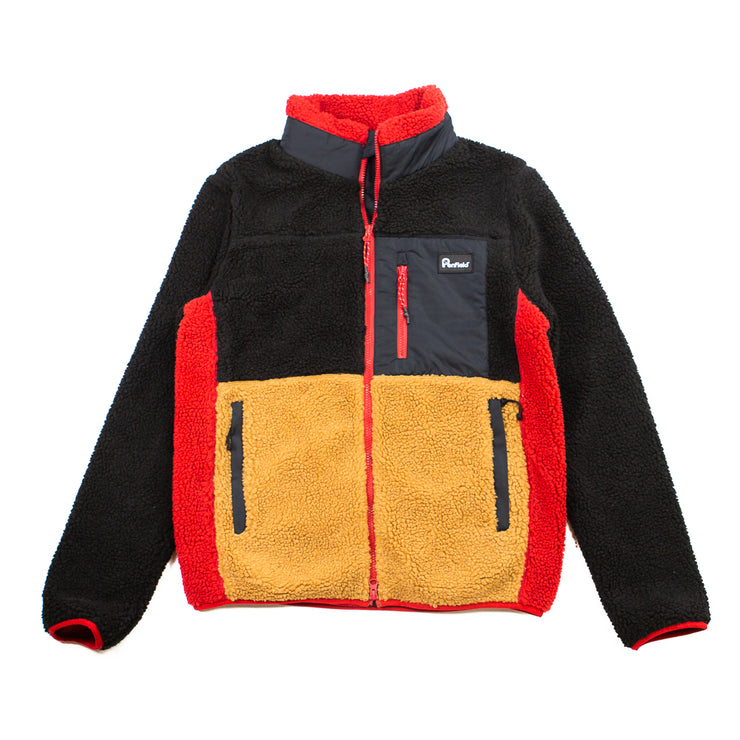 Mattawa Colourblock Fleece (Black)
