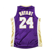 Authentic Hall of Fame Lakers Kobe Bryant Jersey (Purple)