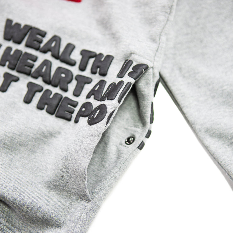 Peak Hoodie (Heather Grey)