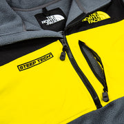 Steep Tech 1/2 Zip Fleece (TNF Black/Lightning Yellow)