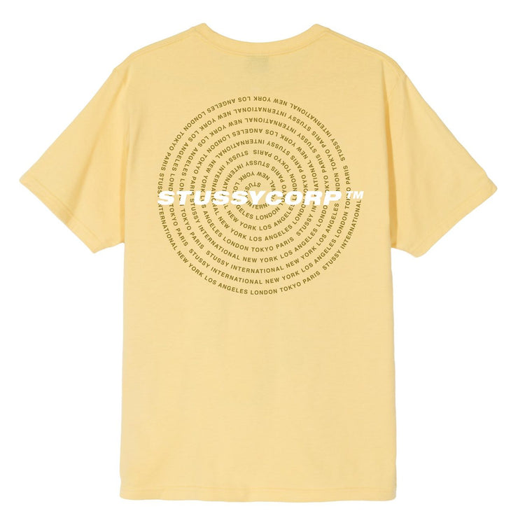 City Spiral Tee (Yellow)
