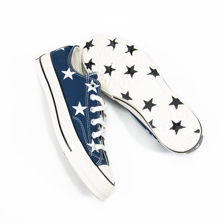 Chuck Taylor 70 Ox Archive Print (Navy/White)