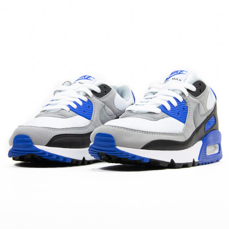 Air Max 90 (white/particle grey/hyper royal)