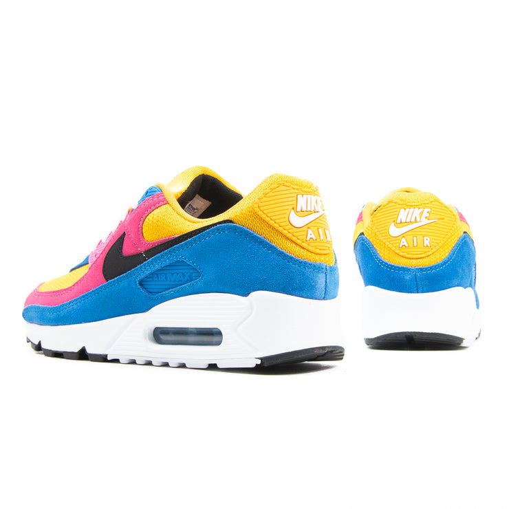 Air Max 90 (UNIVERSITY GOLD/BLACK-BATTLE BLUE-WHITE)