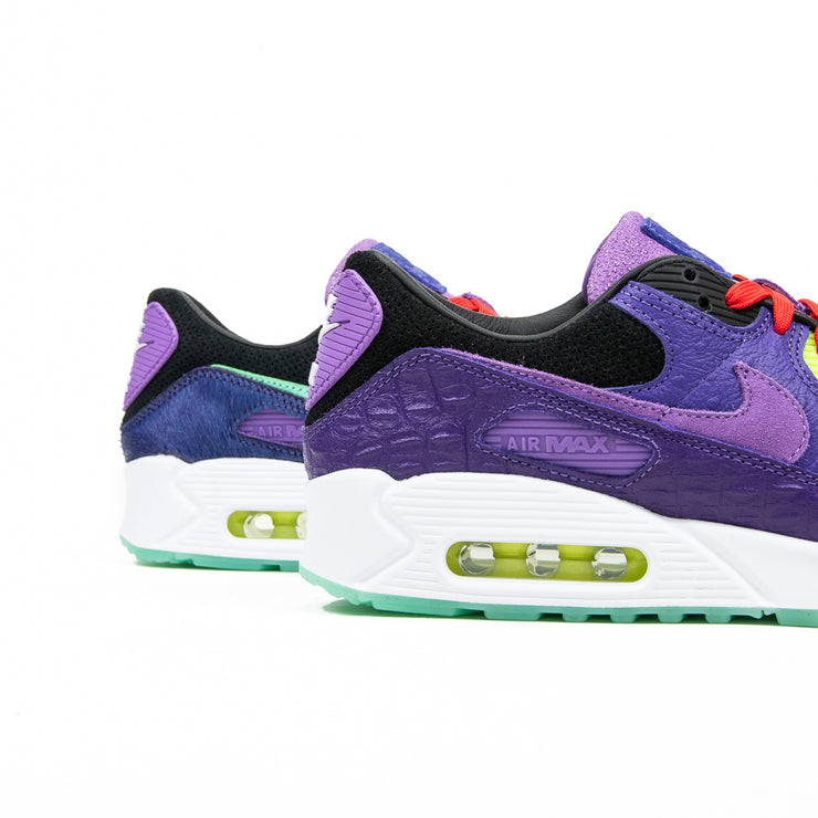 Air Max 90 Croc QS (Black/Violet)