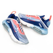 Air Max 2090 (White/Deep Royal/Chile Red)