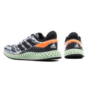 4D Run 1.0 (White/Core Black/Signal Coral)