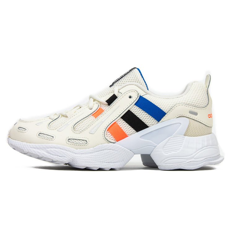 EQT Gazelle (Off White/Signal Coral/Glory Blue)