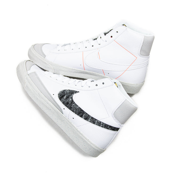 Blazer Mid '77 (White/Lt. Smoke Grey)