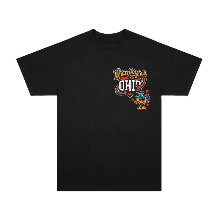 JFG x Midwest Tour I Love Ohio Tee (Black)