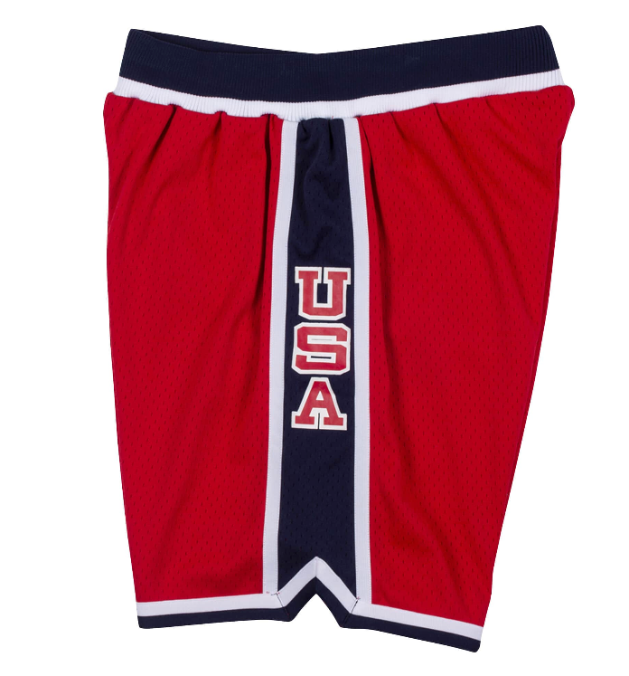 1984 USA Authentic Short (Red)