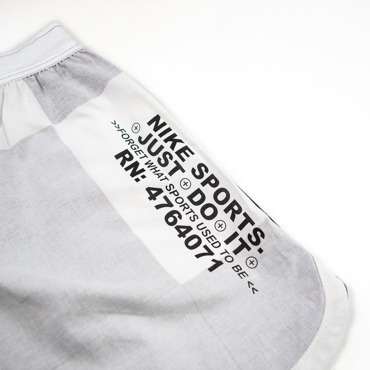 NSW Checkered Woven Shorts (Iron Grey/White/Black)