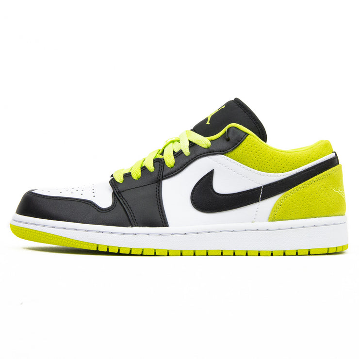 Air Jordan 1 Low SE (Black/Black/Cyber Green)