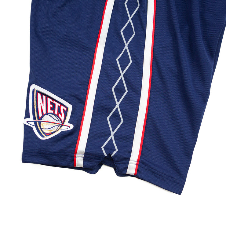 06-07 New Jersey Nets Authentic Shorts (Away)