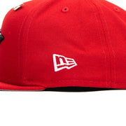 Crown Old School Snapback (Crimson)