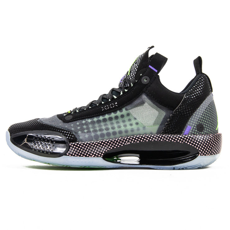 Air Jordan XXXIV Low (Black/White/Vapor Green)