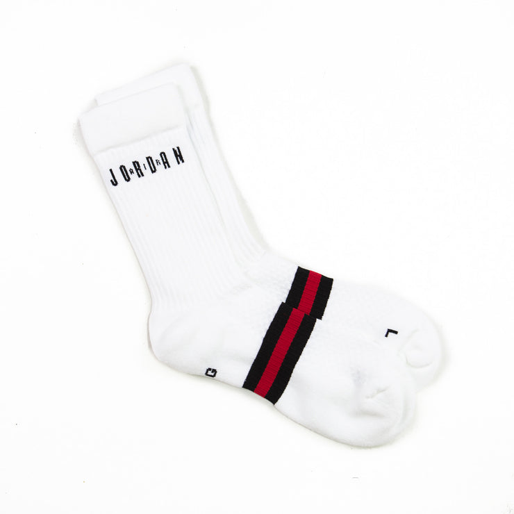 Jordan Legacy Crew Sock 2-Pack (White/Black)