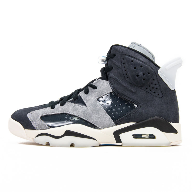 WMNS Air Jordan 6 Retro (Black/Light Smoke Grey)