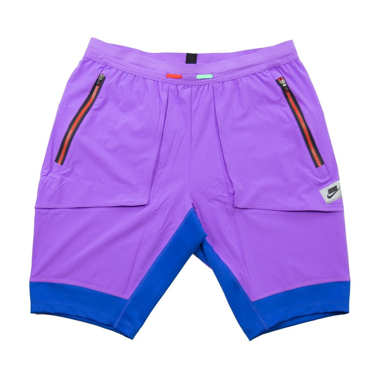 Dri-Fit Running Short (Bright Violet/Game Royal)