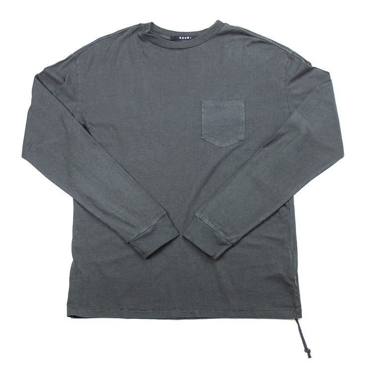 Cache Pocket L/S Tee (Black)