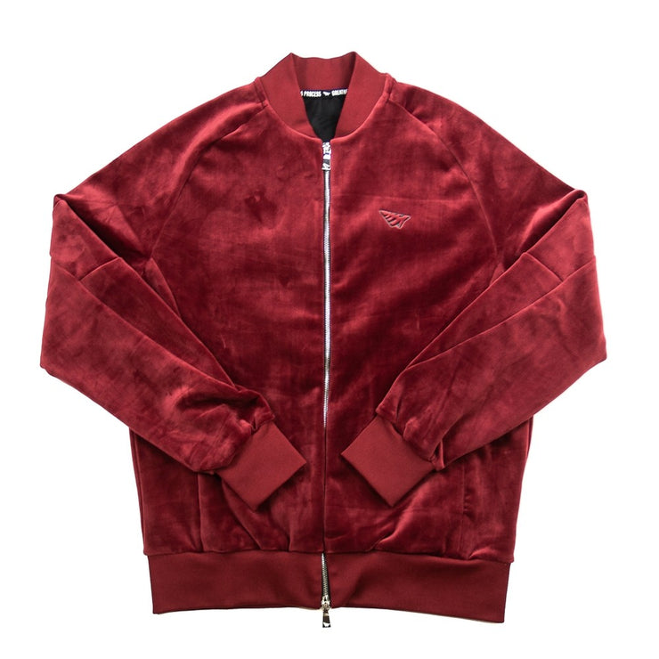 Clearport Velour Jogger Jacket (Port)