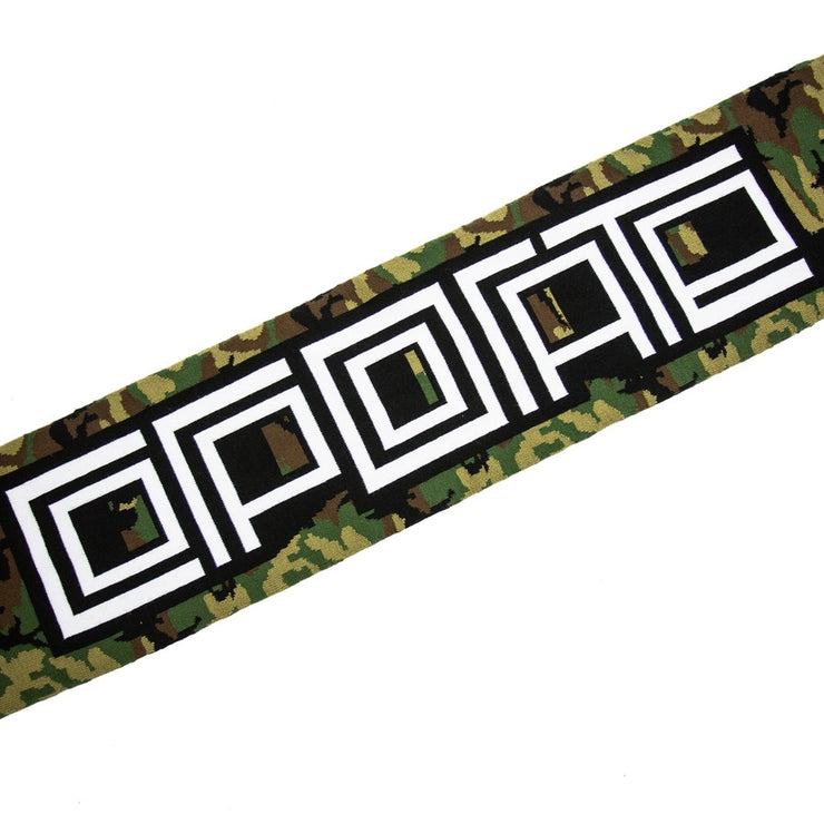 Corporate Block Logo Scarf (Camo)