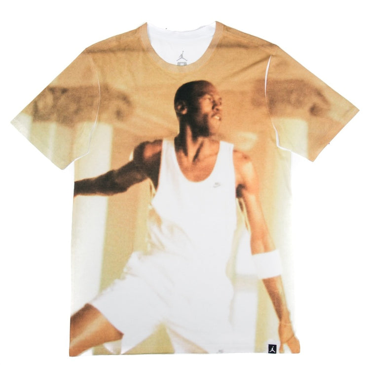 MJ Photo Dunk Tee (White/Multi)