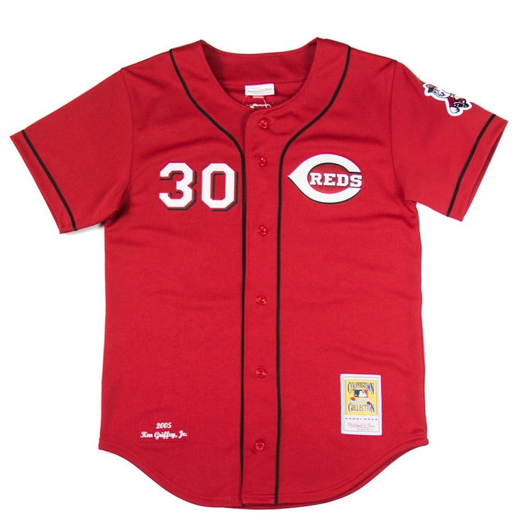 Ken Griffey Jr. 2005 Authentic Jersey (Cincinnati Reds)