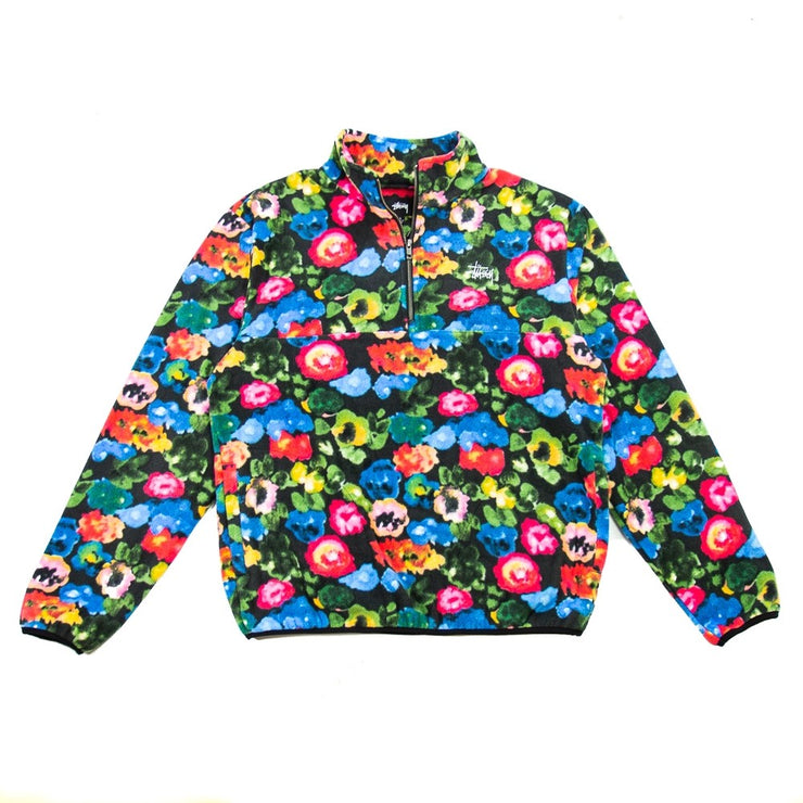 Basic Polar Fleece Mock (Floral)