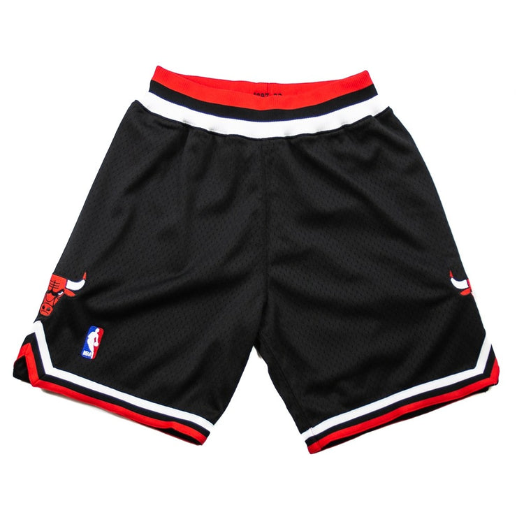 NBA Authentic Chicago Bulls Short (Black)