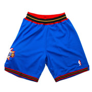 Authentic Alternate Sixers Shorts 99-00 (Blue)
