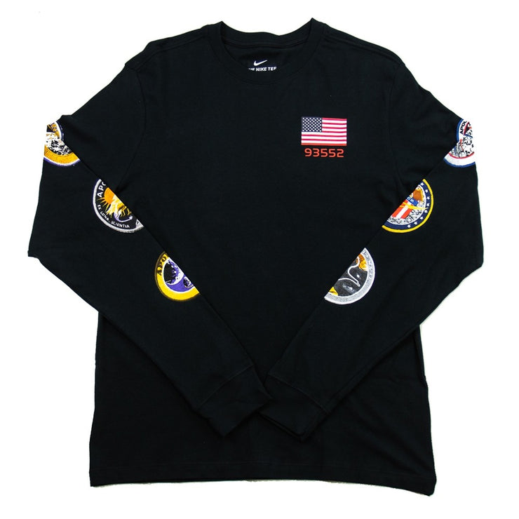 PG NASA L/S (Black)