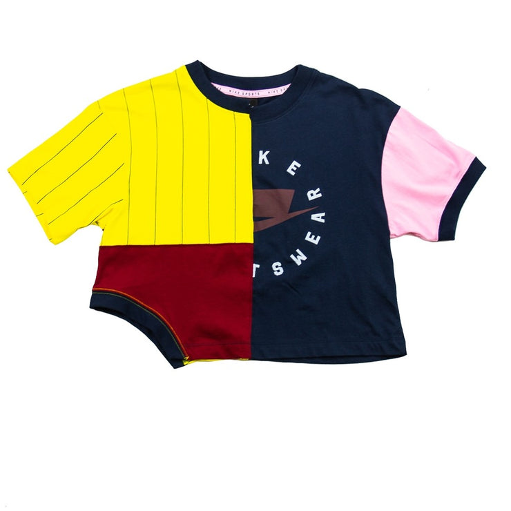 NSW Decon Crop Tee (Obsidian/Team Red)