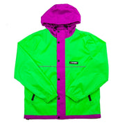 Honeycomb Hooded Jacket (Green)