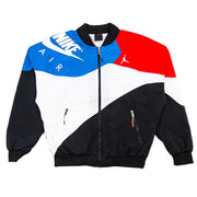 Legacy AJ4 Windbreaker (Black/Military Blue/University Red/White)