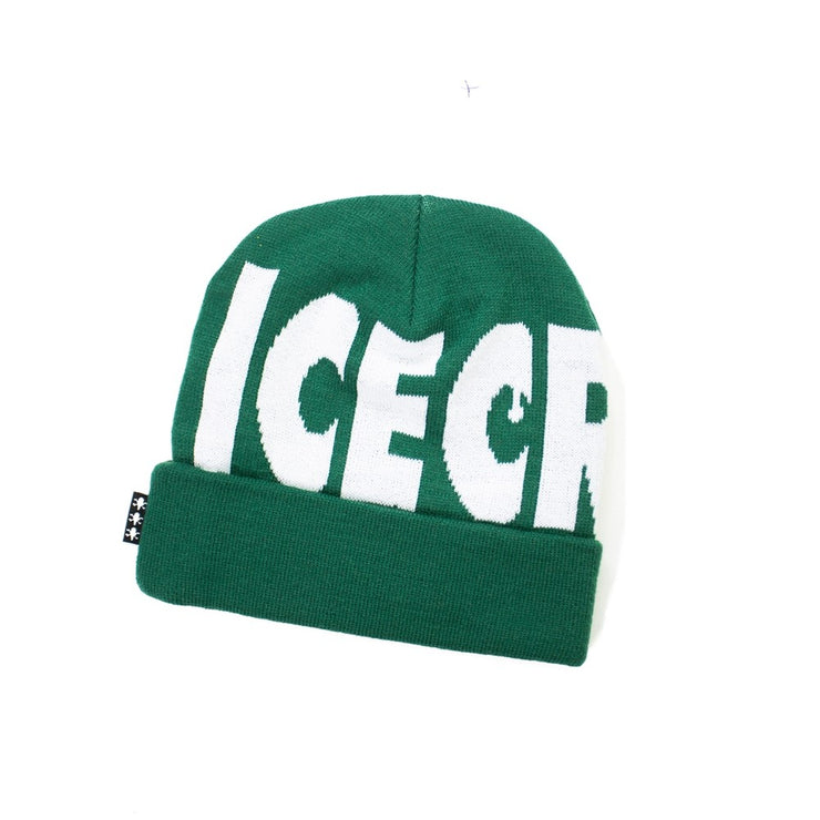 Wheelie Knit Hat (Dark Green)