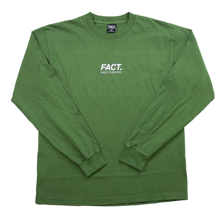 Logotype Small L/S (Olive)