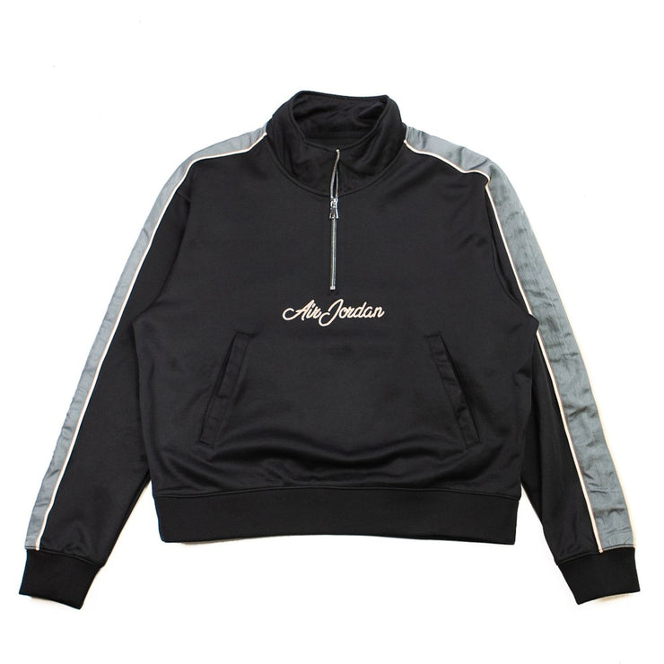 Jordan Remastered Quarter-Zip Jacket (Black/Smoke Grey/Bio Beige)