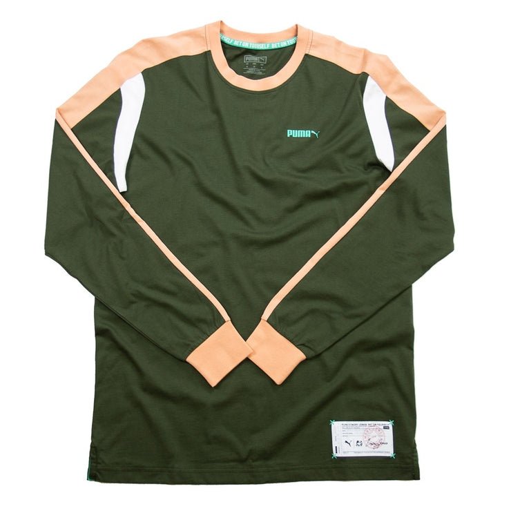 Drive Long Sleeve Tee (Green)