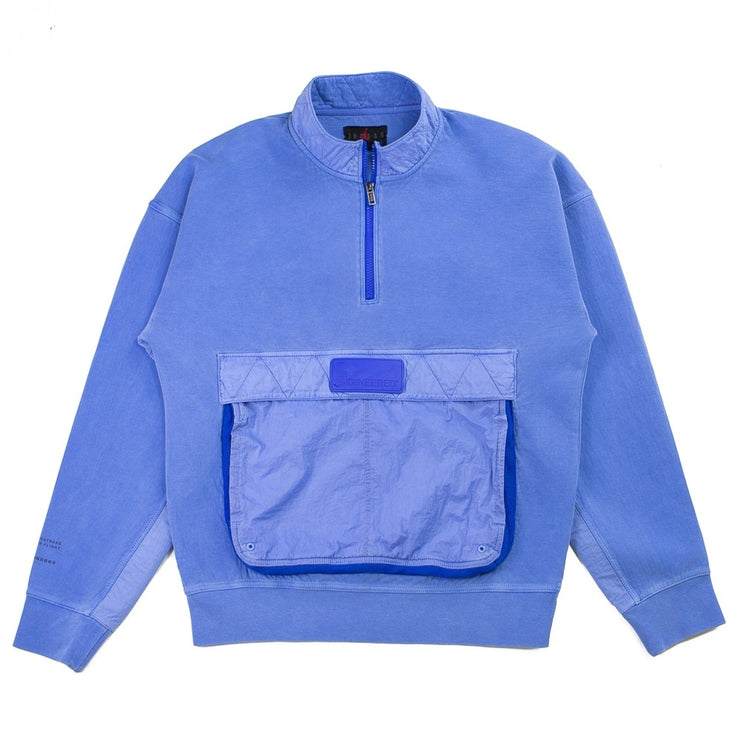 Jordan 23 Engineered 1/2 Zip Sweatshirt (Hyper Royal)