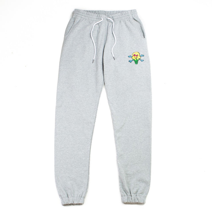 Cherry Sweatpant (Heather Grey)