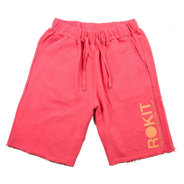 The Diver Fleece Short (Berry)