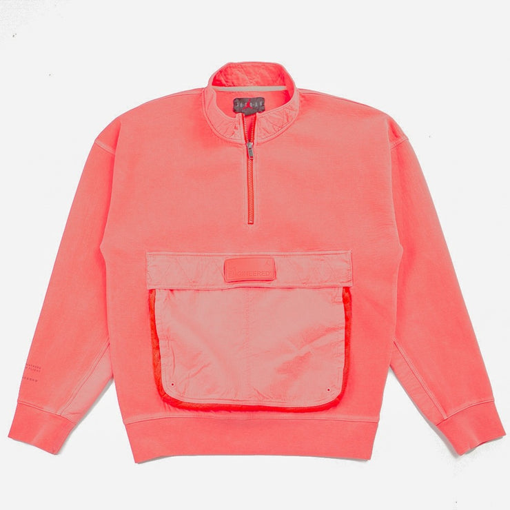Jordan 23 Engineered 1/2 Zip Sweatshirt (Infared 23)