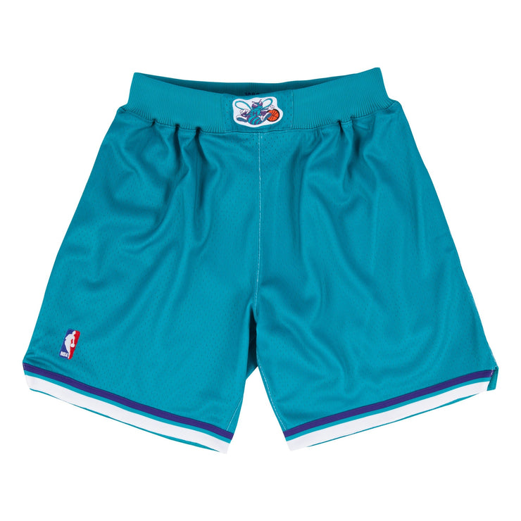 Authentic Charlotte Hornets shorts (Teal)