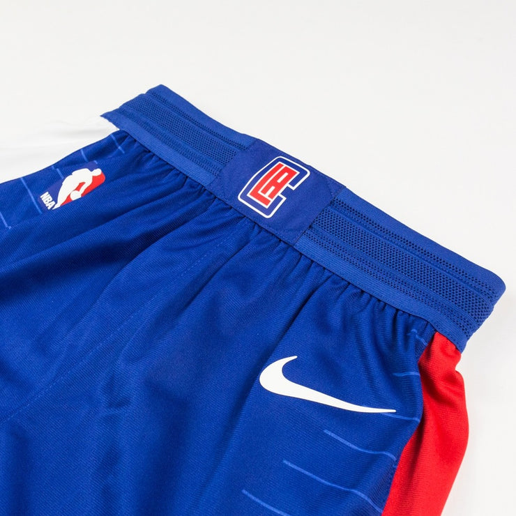 LA Clippers Authentic Away Short (Blue)