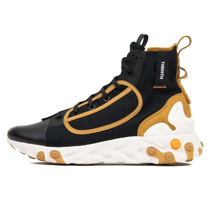 React Ianga (Black/White/Wheat)