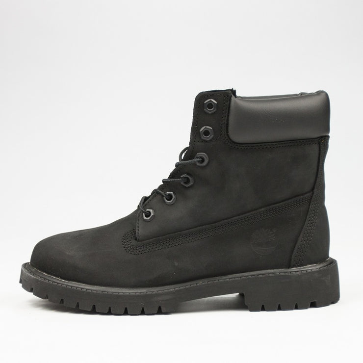 6 Inch Premium Boot Kids (Black)