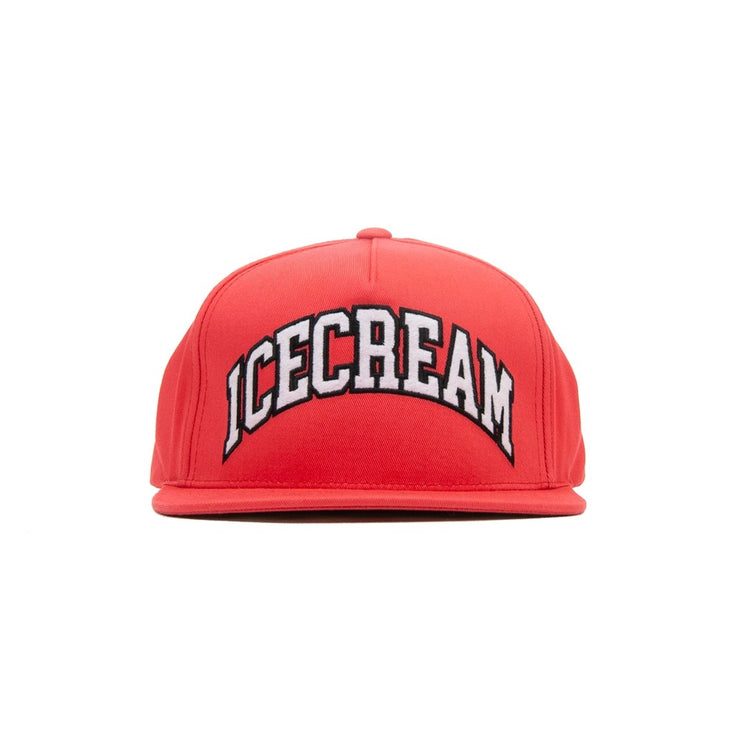 Icecream Snapback Hat (Deep Sea Coral)