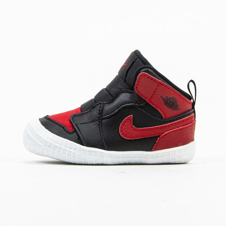 Jordan 1 Crib Bootie (Black/Varsity Red/White)